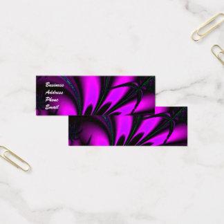 Purple Jungle Mini Business Card
