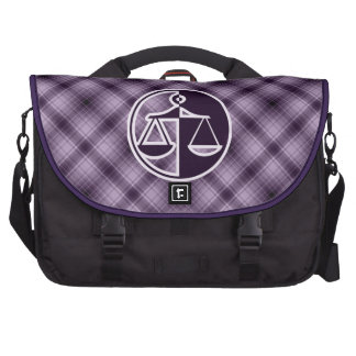 Purple Justice Scales Bag For Laptop