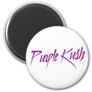 Purple K Parody 2 Inch Round Magnet