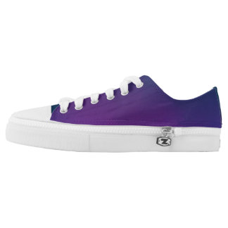 Purple Kamikaze Low Tops