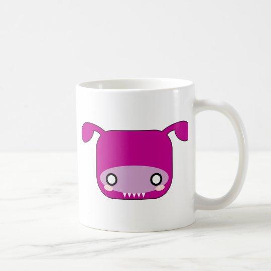 Purple Kawaii Monster Coffee Mug