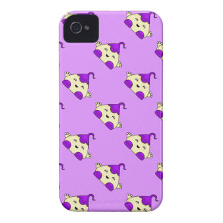 Purple Kawaii Tickle Monster Case-Mate iPhone 4 Case