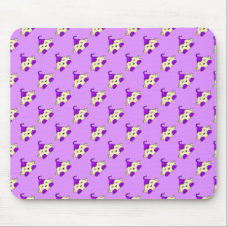 Purple Kawaii Tickle Monster Mouse Pad