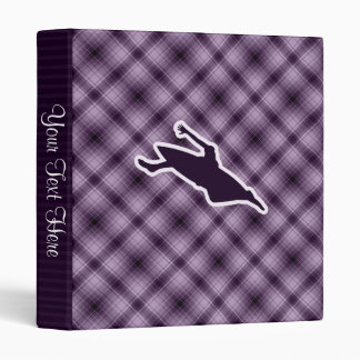 Purple Kayaking 3 Ring Binder