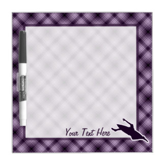 Purple Kayaking Dry-Erase Board