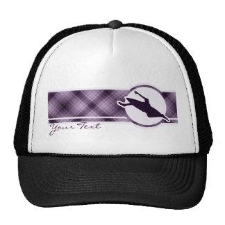 Purple Kayaking Trucker Hat
