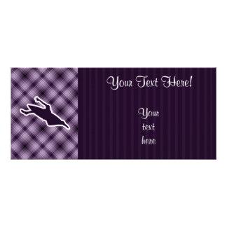 Purple Kayaking Rack Card