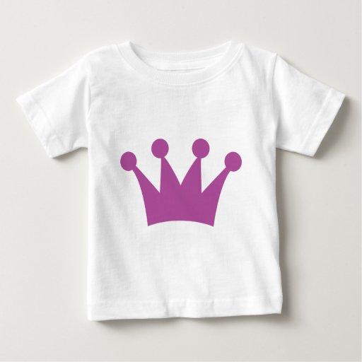 purple king crown baby T-Shirt