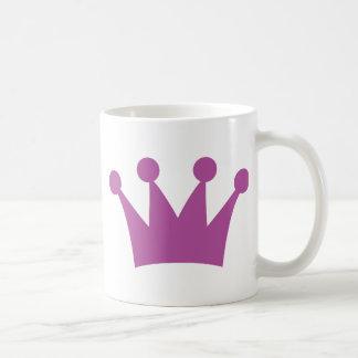 purple king crown coffee mug