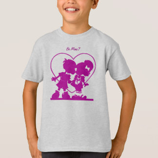 Purple Kissing Kids T-Shirt