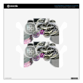 Purple Kissing Toad Decal For PS3 Controller