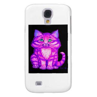 Purple Kitten Samsung Galaxy S4 Case