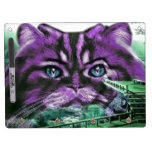 Purple Kitty Dry-Erase Board