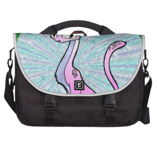 Purple Kitty Laptop Bags
