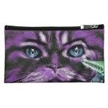 Purple Kitty Makeup Bags