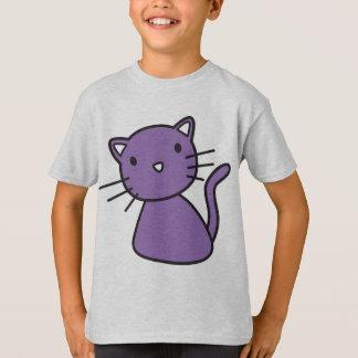 purple kitty t-shirt