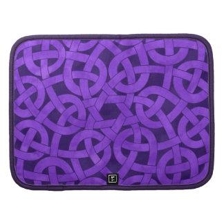 Purple Knotwork Planner