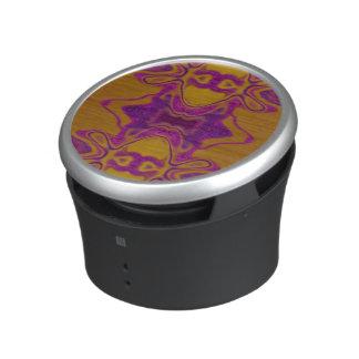 Purple lace bluetooth speaker