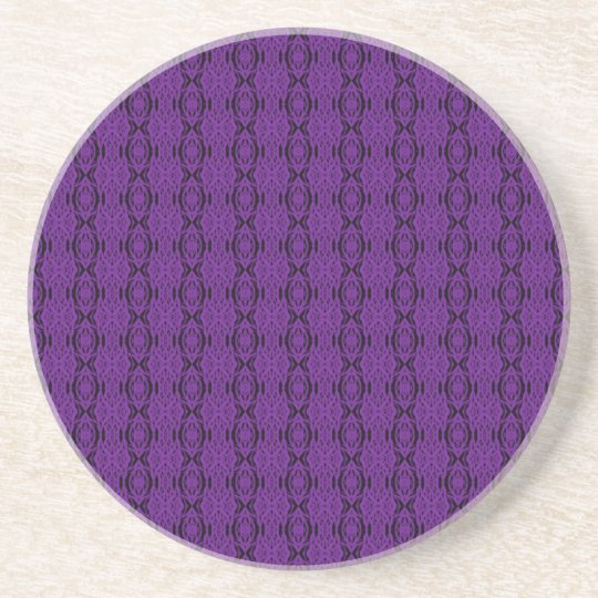 Purple Lace Coaster