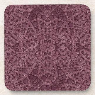 Purple Lace Coasters