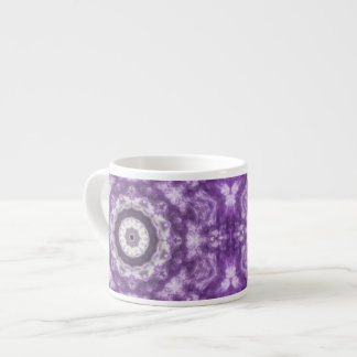 Purple Lace Espresso Cup