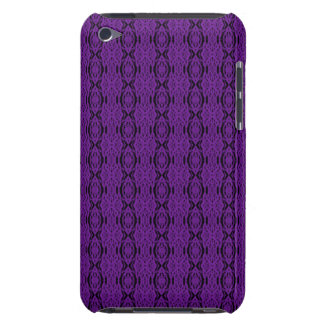 Purple Lace iPod Touch Barely There Case