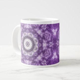 Purple Lace Jumbo Mug