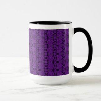 Purple Lace Mug