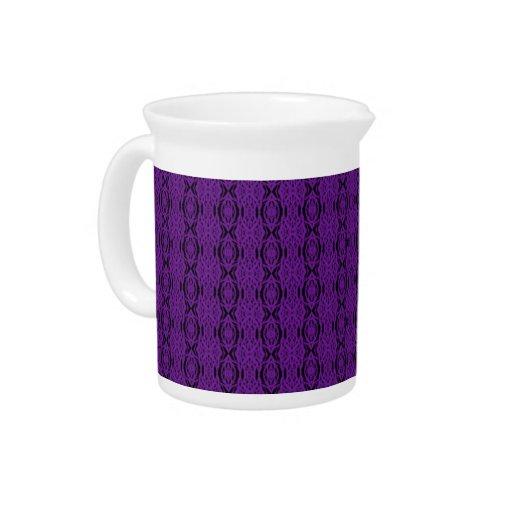 Purple Lace Pitcher