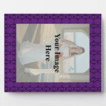 Purple Lace Plaque