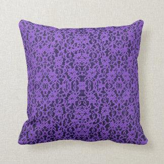 Purple Lace Pillows - Decorative & Throw Pillows Zazzle