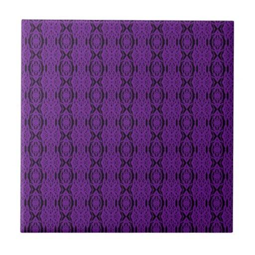 Purple Lace Tile