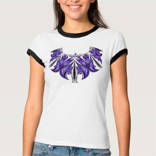 Purple Lacy Design Shirt