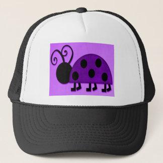 Purple Lady Bug Trucker Hat