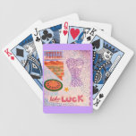 Purple Lady Luck Collage Nevada Roulette Card Decks