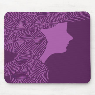 Purple Lady Mousepad