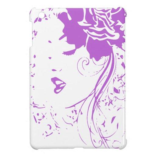 Purple Lady of Chronic Pain iPad Mini Cases