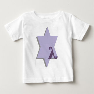Purple Lambda Star Baby T-Shirt