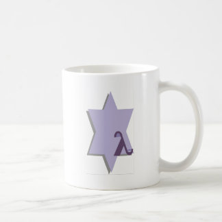 Purple Lambda Star Coffee Mug