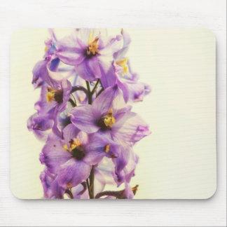 Purple Larkspur Delphinium Mouse Pad