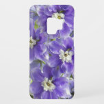 "Purple Larkspur Floral Case-Mate Samsung Galaxy S9 Case<br><div class=""desc"">Floral themed,  protective phone case for the Samsung Galaxy S9 that features a photo image of lovely,  light purple Larkspur flowers,  otherwise known as Delphinium. To see other products we have to offer,  click on the Northwestphotos store link.</div>"