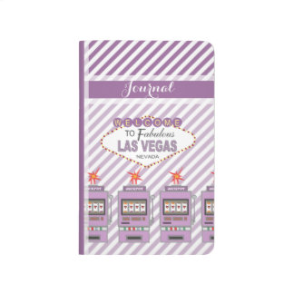 Purple Las Vegas Icons Journal