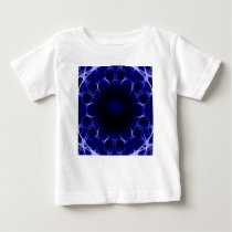 purple laser pattern baby T-Shirt