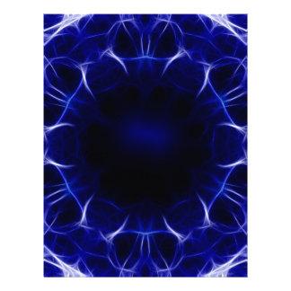 purple laser pattern letterhead