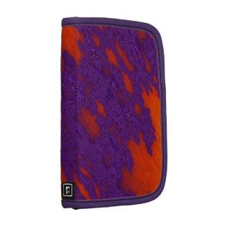 Purple Lava Fractal Art Planner Folio Planner