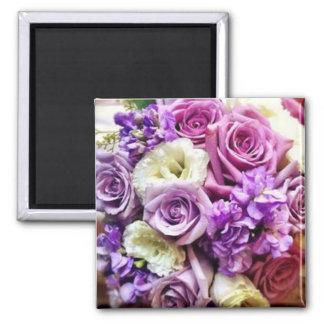 Purple & Lavendar Boquet Magnet