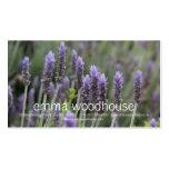 Purple Lavendar Business Card Templates