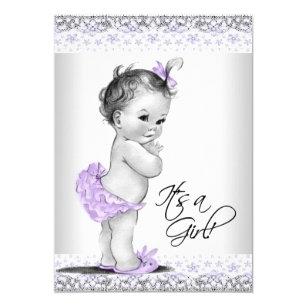 lavender baby shower invitations zazzle