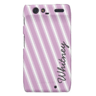 Purple Lavender Droid RAZR Cell Phone Pattern Case Droid RAZR Cover