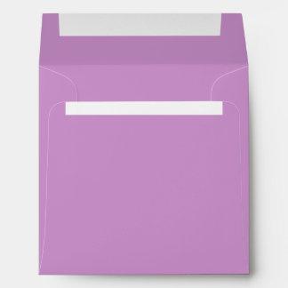 Purple Lavender Envelope